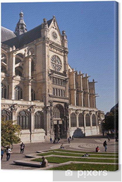 Obraz na płótnie Kościół Saint-Eustache w Paryżu - Francja - Miasta europejskie