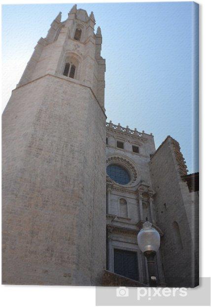 Obraz na płótnie Kościół Sant Feliu gérone, Hiszpania - Europa