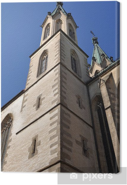 Obraz na płótnie Kościół St Maurice, Kromeriz światowego dziedzictwa UNESCO, czeskim - Europa