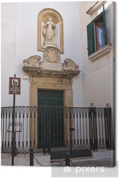 Obraz na płótnie Kościół St.Teresa Avila. Gallipoli. Apulia. Włochy. - Wakacje