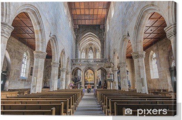 Obraz na płótnie Kościół św Dionizy w Esslingen am Neckar, Niemcy - Europa