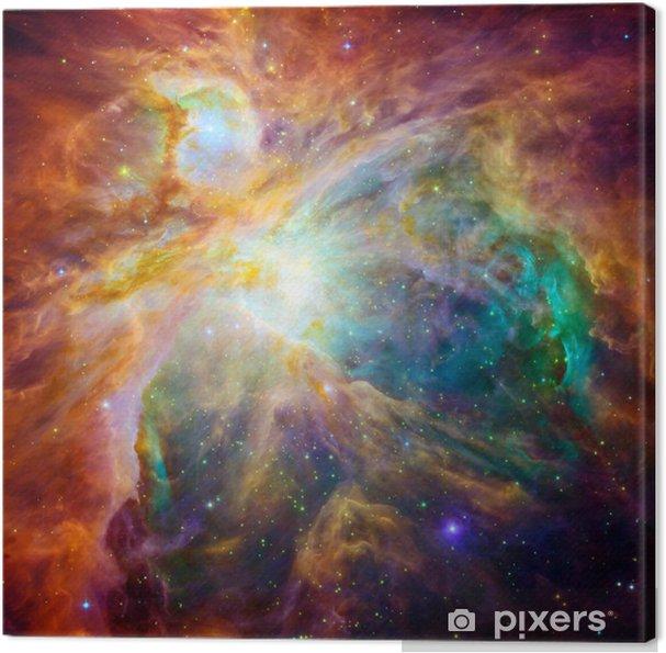Obraz na płótnie Kosmiczne chmury nazywa Mgławica Oriona - Wszechświat