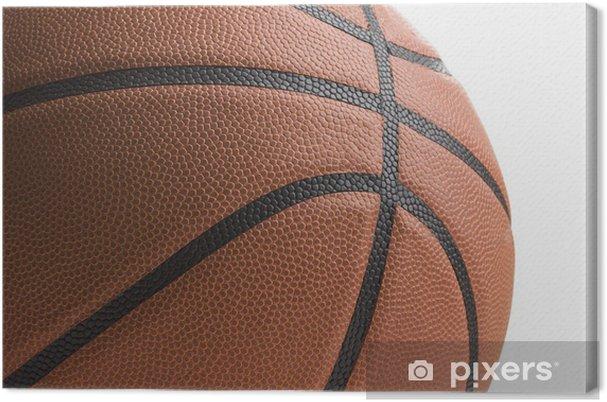 Obraz na płótnie Koszykówka na białym tle - Artykuły sportowe
