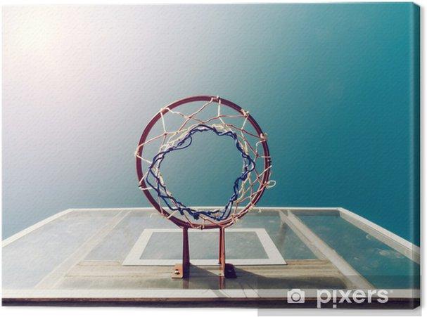 Obraz na płótnie Koszykówka Poniżej Net - Tematy