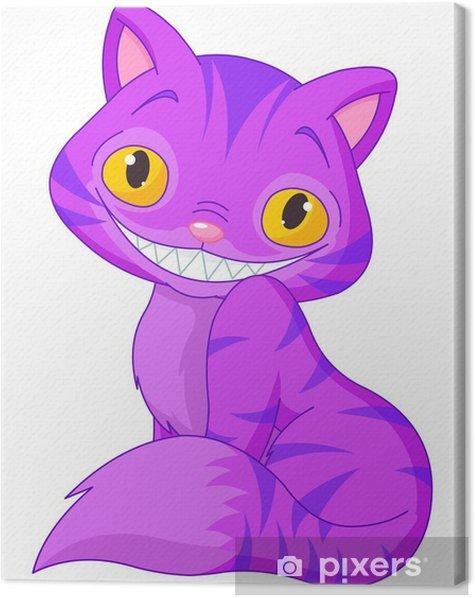 Obraz na płótnie Kot z cheshire - Fikcyjne zwierzęta