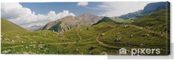 Obraz na płótnie Krajobraz Alpy Wysokie (vars kołnierz) - Góry