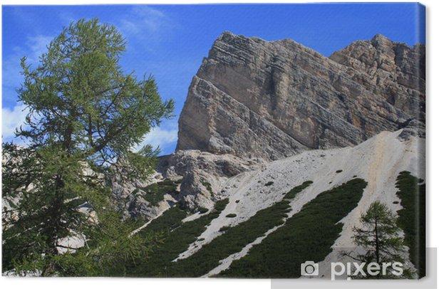 Obraz na płótnie Krajobraz Dolomitach - Góry