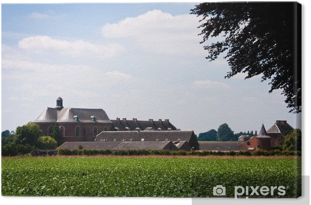 Obraz na płótnie Krajobraz grand-Leez - Europa