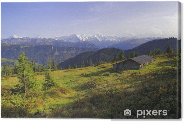 Obraz na płótnie Krajobraz krasowy, Habkern, Berno, Szwajcaria - Natura i dzicz
