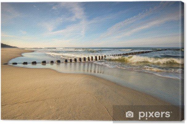 Obraz na płótnie Krajobraz morski, morze, plaża - Sport