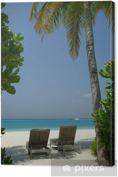 Obraz na płótnie Krajobraz plaża 63 - Wakacje