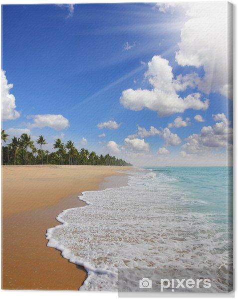 Obraz na płótnie Krajobraz plaży - Azja