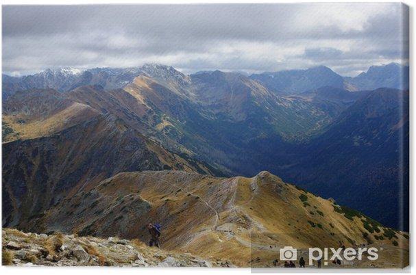Obraz na płótnie Krajobraz Tatr w Polsce - Europa
