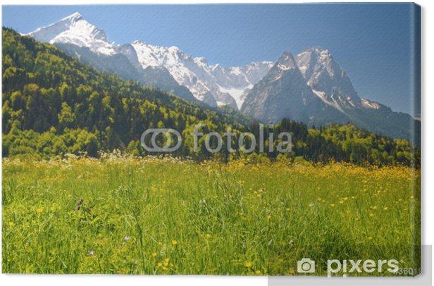 Obraz na płótnie Krajobraz w Alpach Bawarskich - Europa