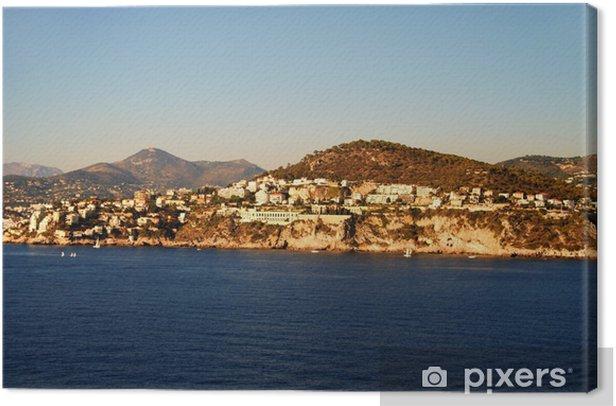 Obraz na płótnie Krajobraz wybrzeża Morza Śródziemnego - Europa