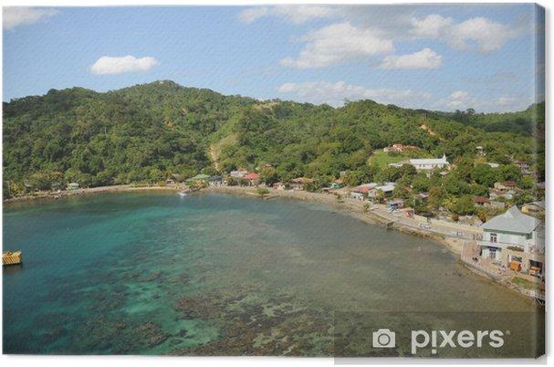 Obraz na płótnie Krajobraz wyspy - Wyspy