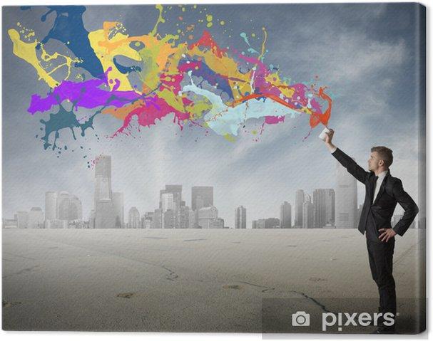 Obraz na płótnie Kreatywność w biznesie - Koncepcje biznesowe