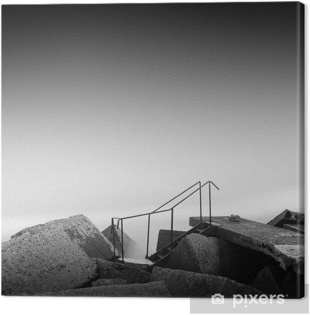 Obraz na płótnie Kroki do nikąd - Podróże