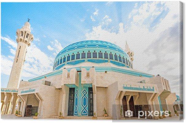 Obraz na płótnie Król Abdullah I Meczet w Ammanie w Jordanii - Religie