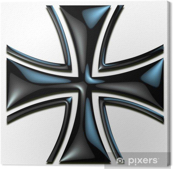 Obraz na płótnie Krzyż Maltański - Wolność