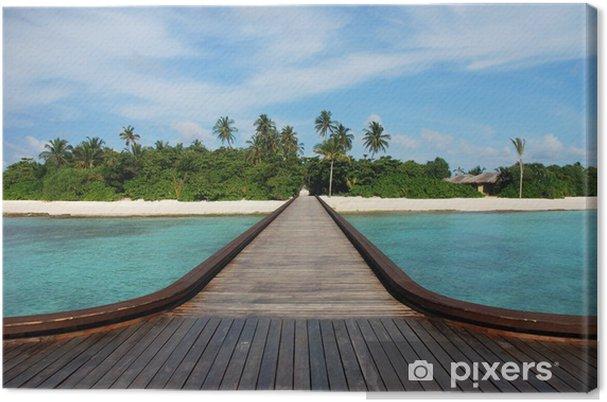 Obraz na płótnie Kudafunafaru Wyspa - Azja