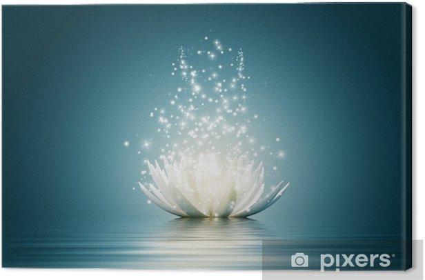 Obraz na płótnie Kwiat lotosu - Style