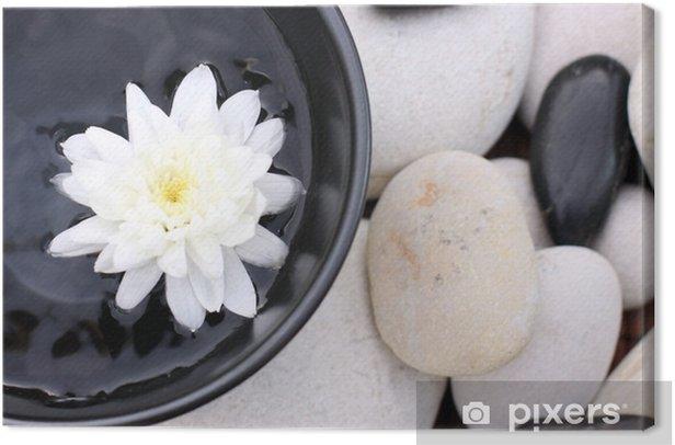 Obraz na płótnie Kwiat na plaży - Zdrowie i medycyna