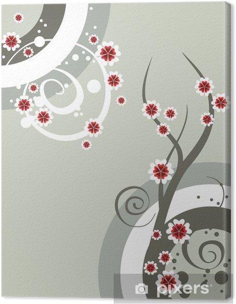 Obraz na płótnie Kwiatów dekoracyjnego - Kwiaty