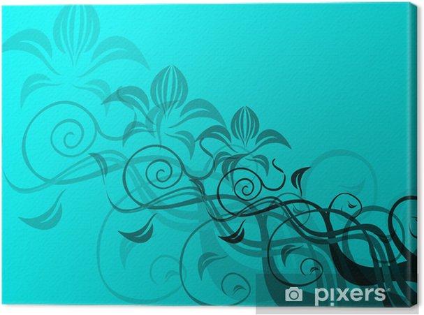 Obraz na płótnie Kwiatów w tle - Pory roku