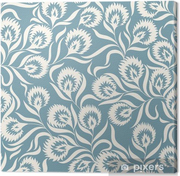 Obraz na płótnie Kwiatowy wzór - Rośliny i kwiaty