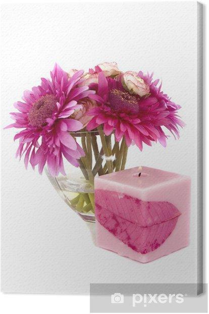 Obraz na płótnie Kwiaty - Uroda i pielęgnacja ciała