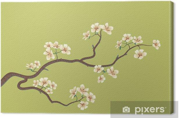 Obraz na płótnie Kwiecisty sakura, japoński wiśniowe drzewo - Tematy