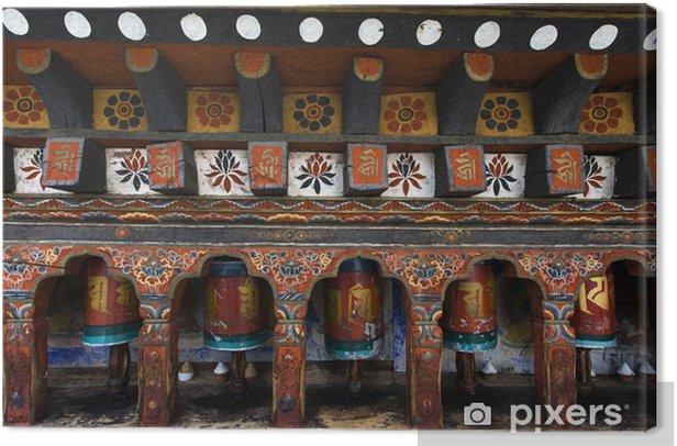 Obraz na płótnie Kyichu Lhakhang świątynia w dolinie Paro, Bhutan - Azja