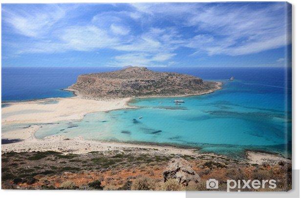 Obraz na płótnie Laguna Balos - Kreta, Grecja - Krajobrazy