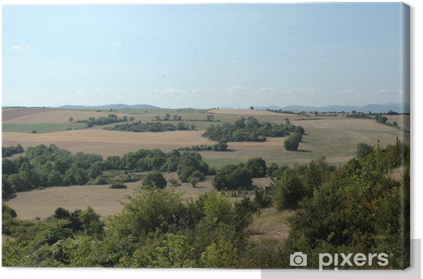 Obraz na płótnie Larzac - Krajobraz wiejski