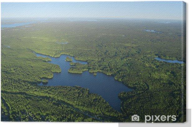 Obraz na płótnie Lasów i jezior - Inne Inne