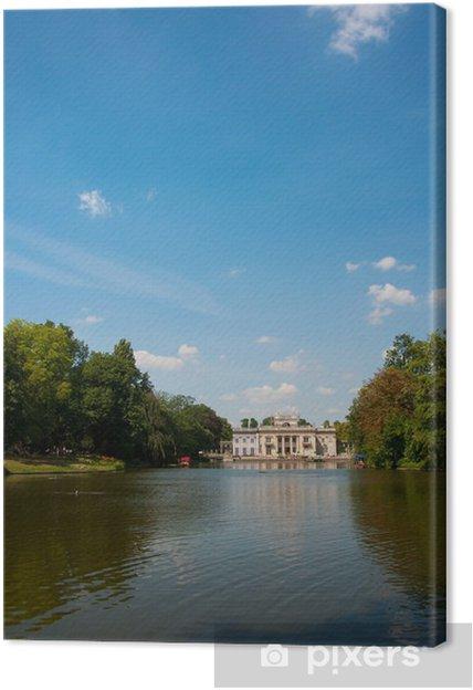 Obraz na płótnie Łazienki Królewskie - Budynki użyteczności publicznej