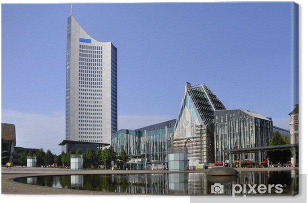 Obraz na płótnie Leipzig Augustusplatz z Unikirche budynków uniwersyteckich - Wakacje
