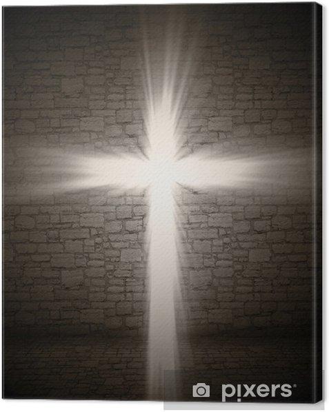Obraz na płótnie Lekka krzyż - Religie