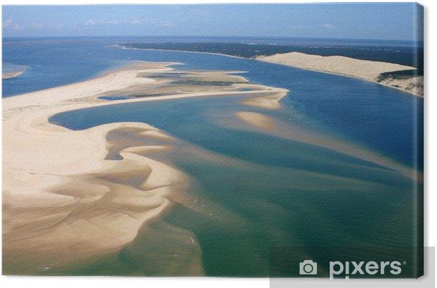 Obraz na płótnie Les przechodzi Bassin du d'Arcachon - iStaging