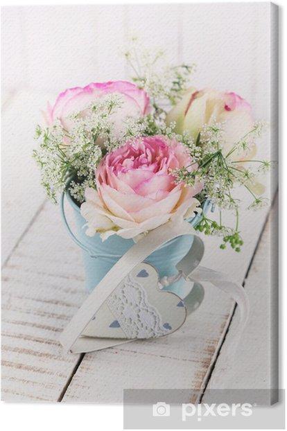 Obraz na płótnie Letnie kwiaty - Style