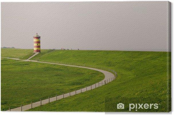 Obraz na płótnie Leuchtturm pilsum - Woda