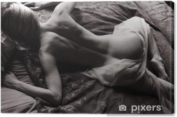 Obraz na płótnie Leżąc nago - Akty żeńskie