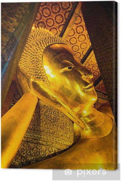 Obraz na płótnie Leżącego Buddy w Wat Pho inthailand - Azja