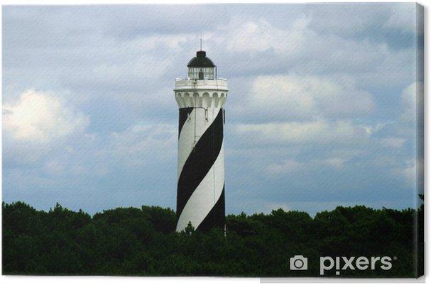 Obraz na płótnie Lighthouse Contis - Infrastruktura