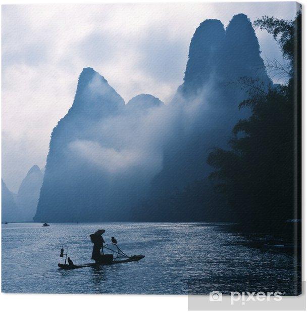 Obraz na płótnie Lijiang Rybacy - Niebo