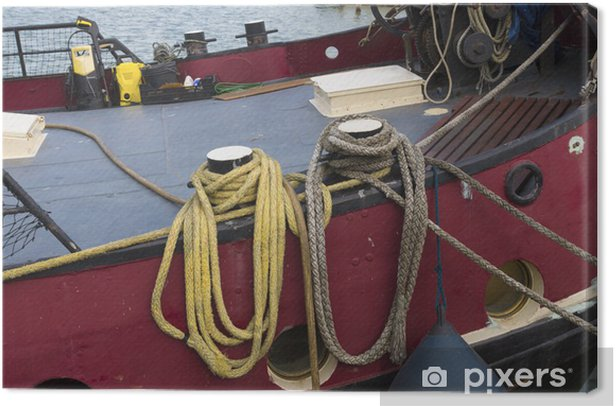 Obraz na płótnie Liny na łodzi - Rozrywka