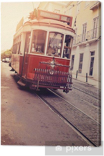 Obraz na płótnie LIZBONA (elektryczny tramwaj) - Style