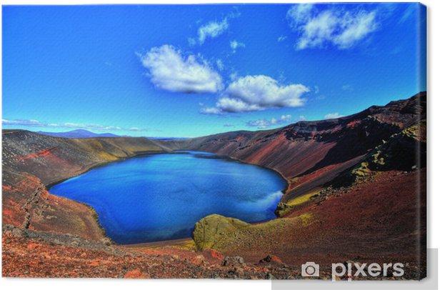 Obraz na płótnie Ljotipollur jeziora w HDR, Islandia - Europa