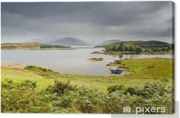 Obraz na płótnie Loch Hourn i Ornsay - Wakacje